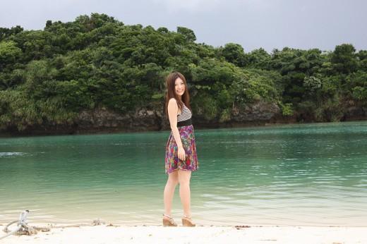 古川小百合と島