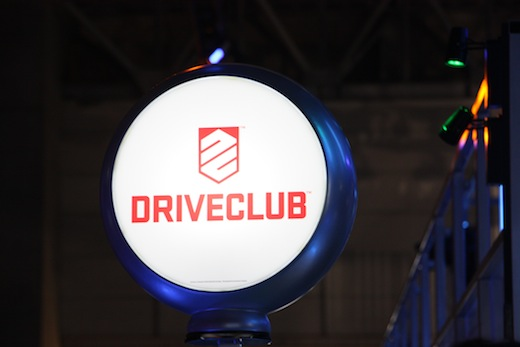 PS4のDRIVECLUB